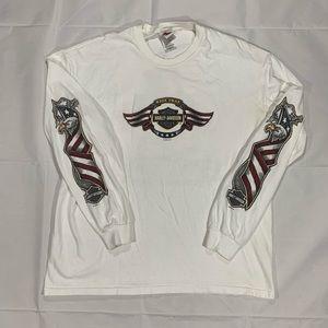 Vintage Harley Davidson Long Sleeve Shirt XL